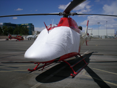 AW109 / AW119 sun shade helicopter cover