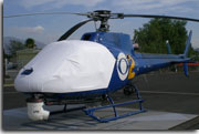 Eurocopter AS350 Astar sun shade helicopter cover
