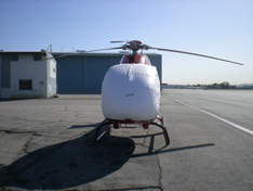 EC120 sun shade helicopter cover