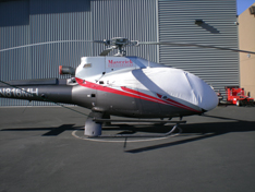 EC130 sun shade helicopter cover