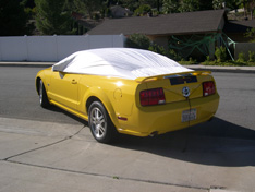 sun shade car cover Ford Mustang 2006