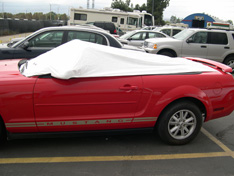sun shade car cover Ford Mustang Convertible 2005