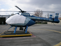 MD520 sun shade helicopter cover