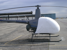 R22 / R44 sun shade helicopter cover