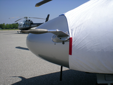 Sikorsky S76 sun shade helicopter cover